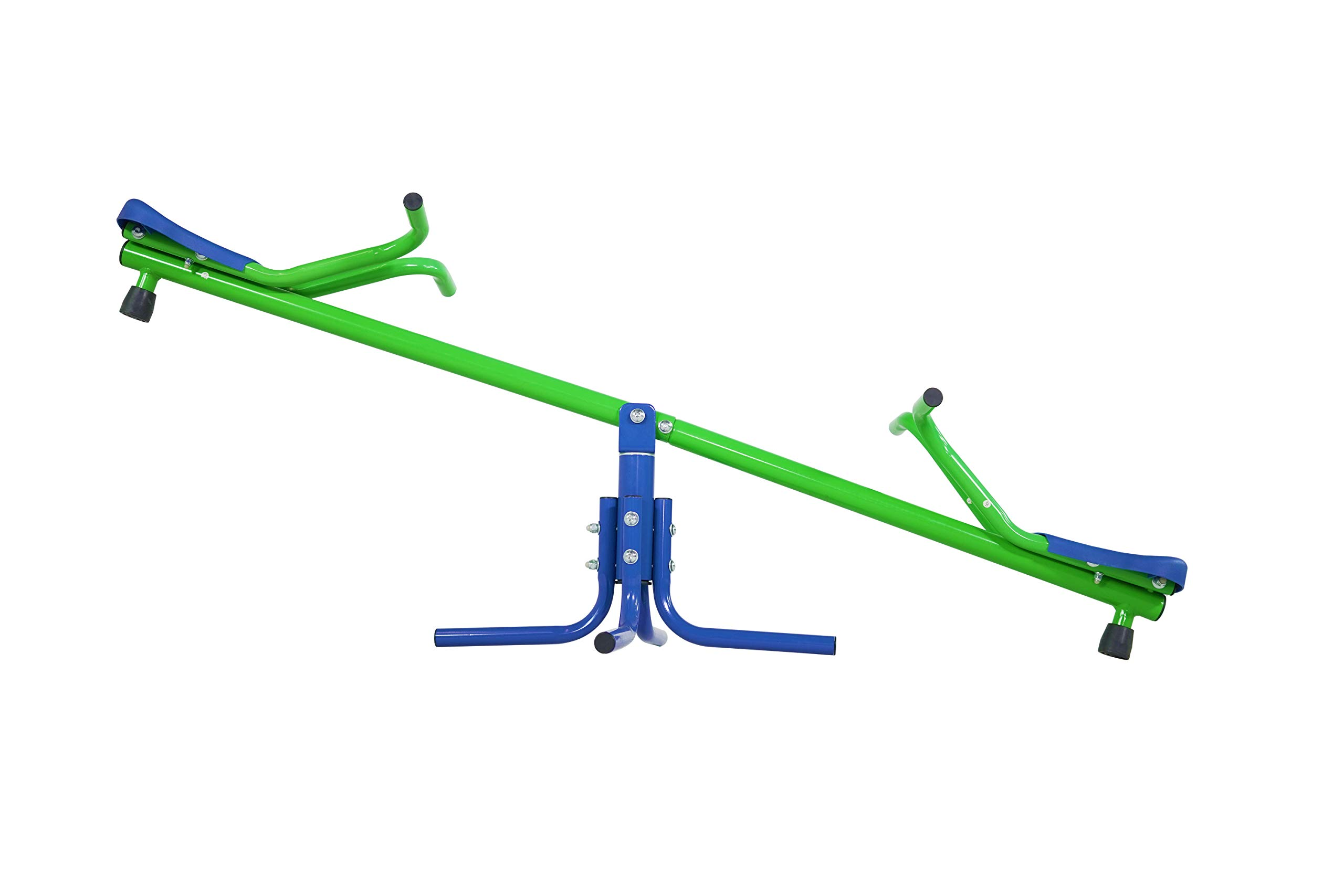 Sportspower Junior Teeter Totter - Childrens Indoor and Outdoor Heavy-Duty Spinning Seesaw by Sportspower