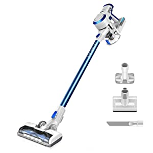 Tineco A10 Hero Cordless Stick Vacuum Cleaner Lightweight 350W Digital Motor Lithium Battery and LED Brush, Handheld Vacuum (Renewed)