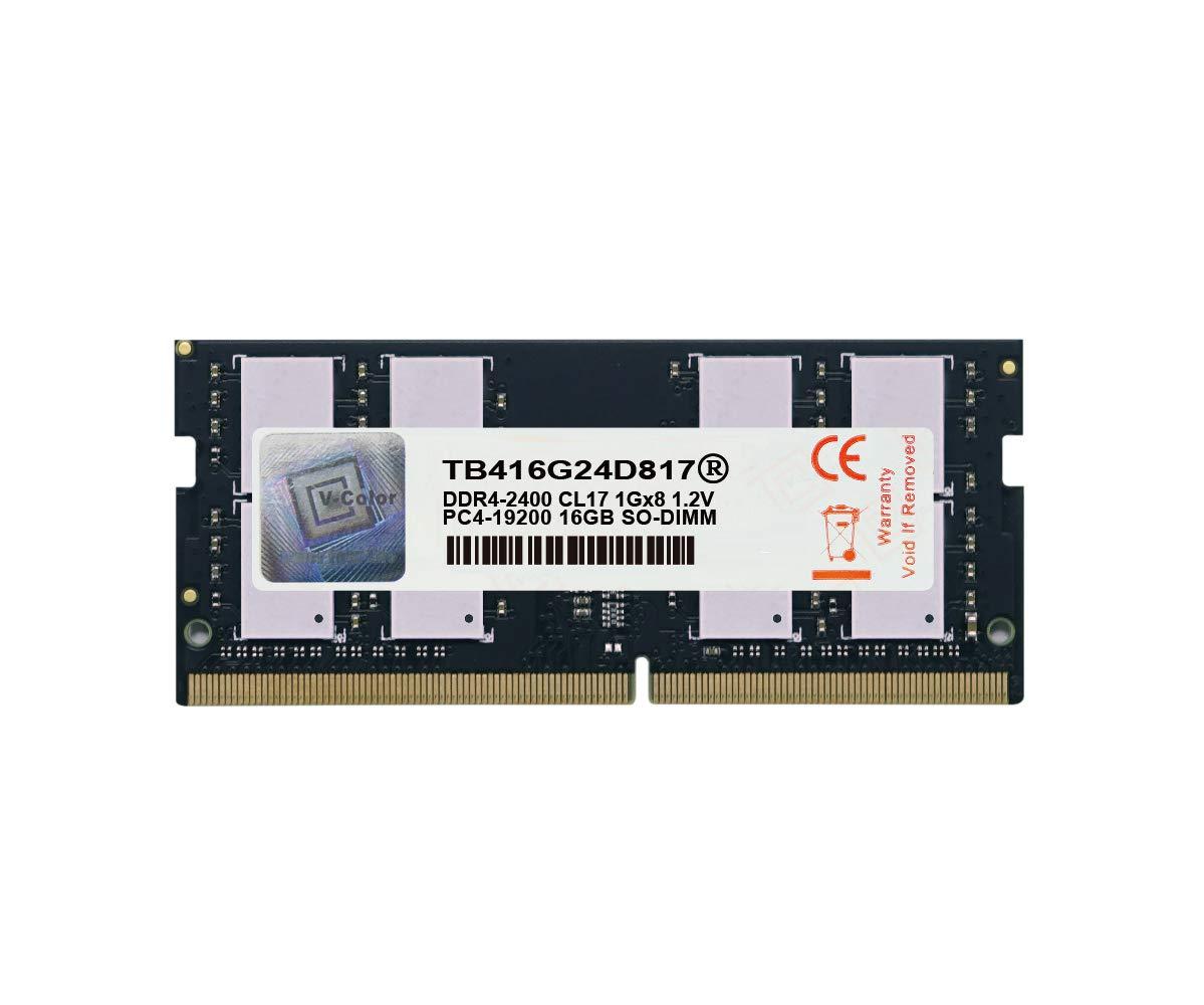 Memoria Ram 16GB DDR4 2400MHZ PC4-19200 SODIMM V-COLOR