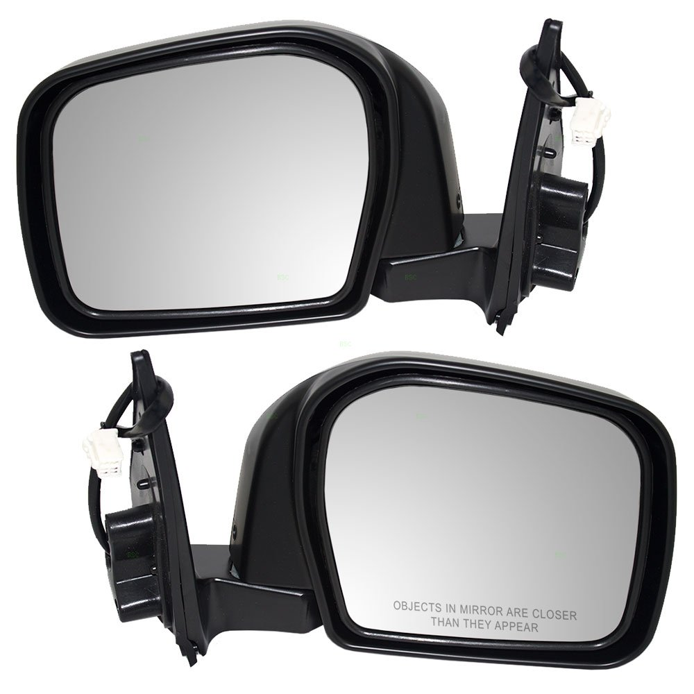 Driver and Passenger Power Side View Mirrors Replacement for Toyota 87940-35811 87910-3D010