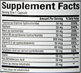 Natural Factors - Hi Potency B Complex, Support for Energy & Normal Nerve Function, 90 Capsules