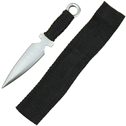 Amazon.com: Swordsaxe Ninja Assassin Kunai - Cuchillo de ...