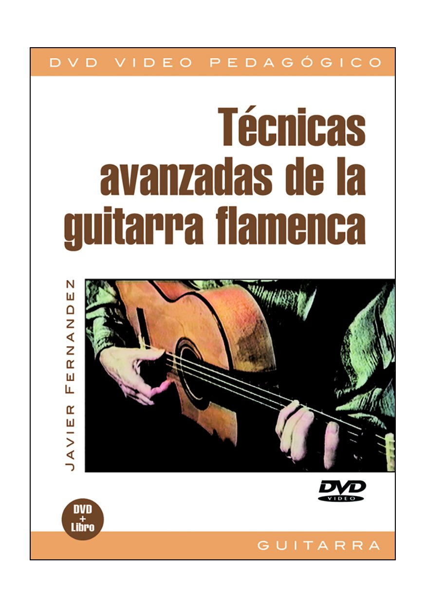 Técnicas Avanzadas De La Guitarra Flamenca Reino Unido DVD: Amazon ...