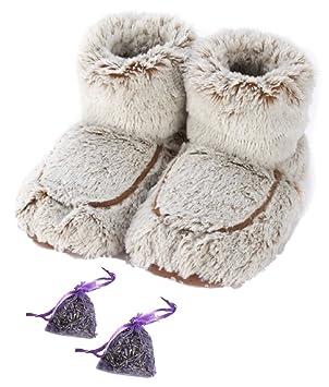 Warmies ® Botas microondas aromáticas de lavanda Plus x 2 ...