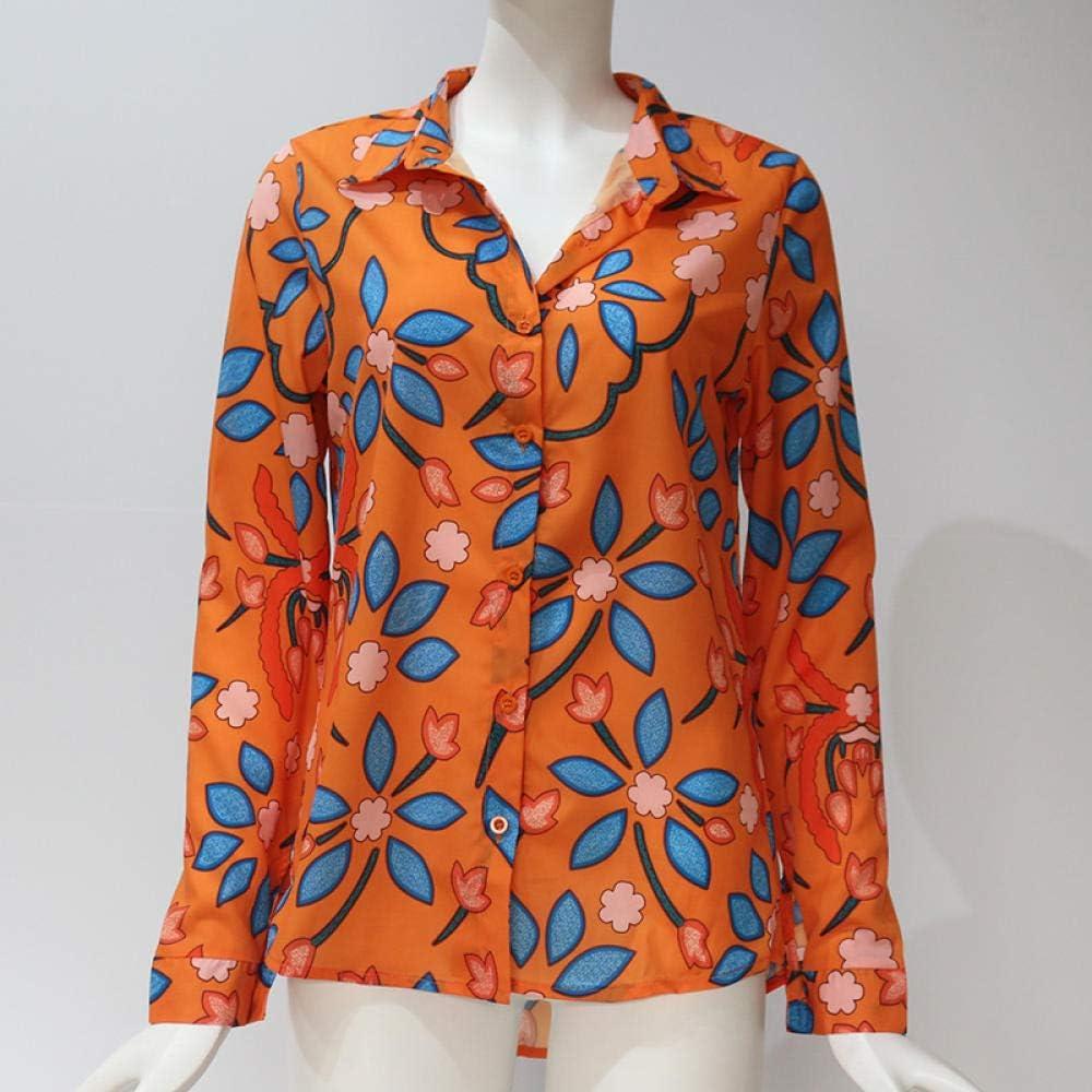 SprSumMrs Blusas de Mujer 2020 Moda de Manga Larga con Cuello Vuelto Camisa de Oficina Blusa de Ocio Camisa Casual Tops Tallas Grandes Blusas Femininas: Amazon.es: Ropa y accesorios