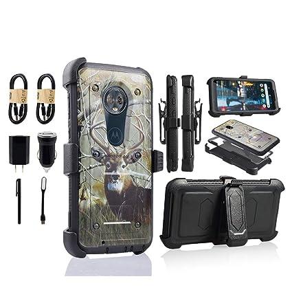 Amazon.com: Funda para teléfono móvil Moto G6, Motorola G6 ...