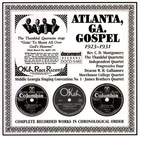 Gospel Blues Music (Atlanta, Ga. Gospel (1923-1931))