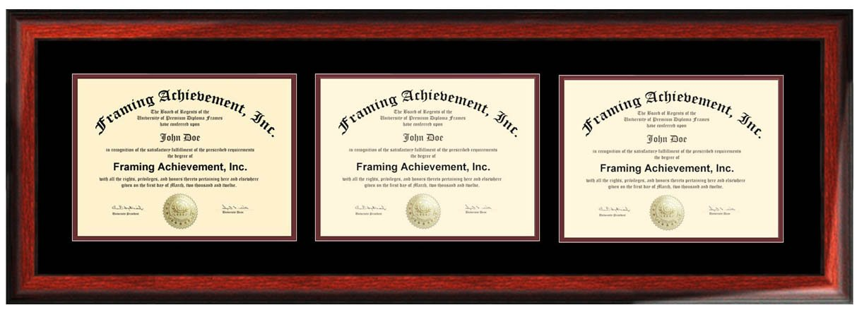 Awesome Matted Certificate Frames Frieze - Framed Art Ideas ...