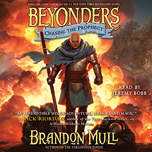 Chasing the Prophecy: Beyonders, Book 3 Audiobook [Free Download by Trial] thumbnail
