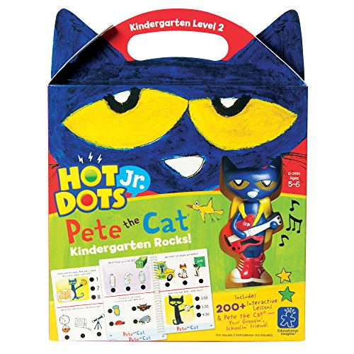 picture of Hot Dots Jr. Pete the Cat Kindergarten Rocks! Set