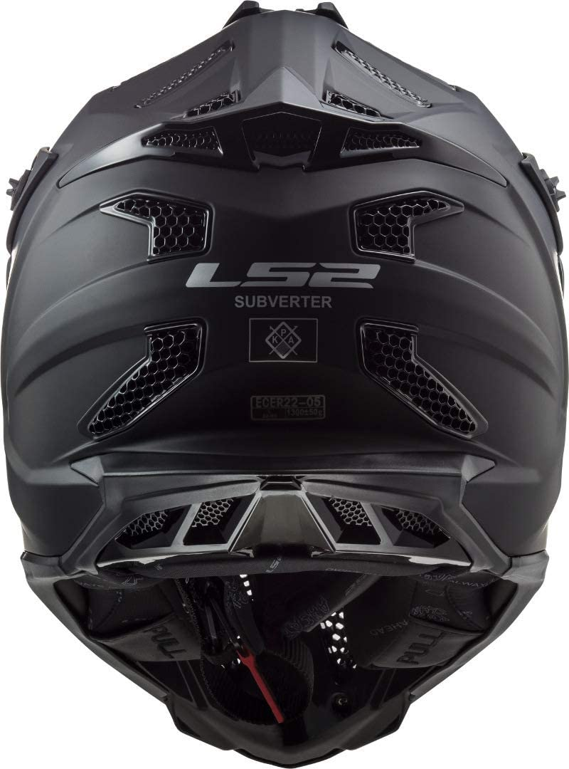 M LS2 Helm MX 470 Subverter Schwarz Gr