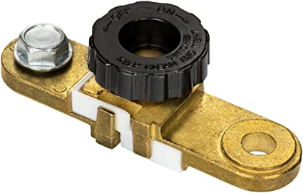 Auto Car Battery Disconnect Safety Kill Cut-off Switch Brass Terminals Cut Off