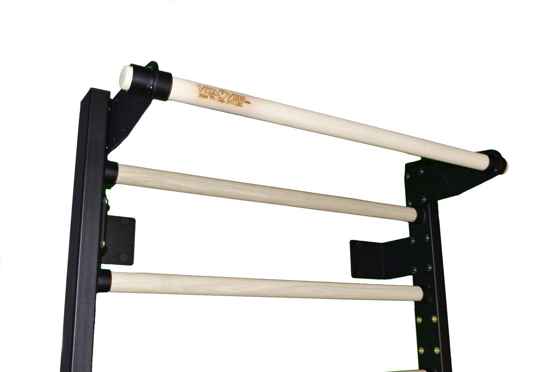 Vita Vibe VSB Series- 36 Wide Stall Bars Swedish Bars – 72 – 90 Tall