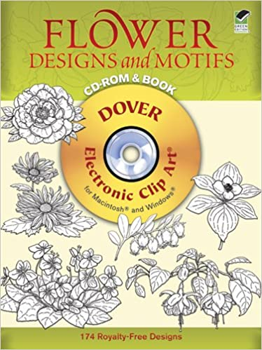 flower designs and motifs dover electronic clip art