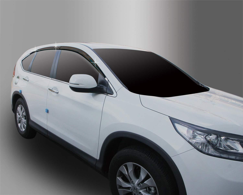 Autoclover Wind Deflectors Set for Honda CRV 2012-2017 (6 pieces)