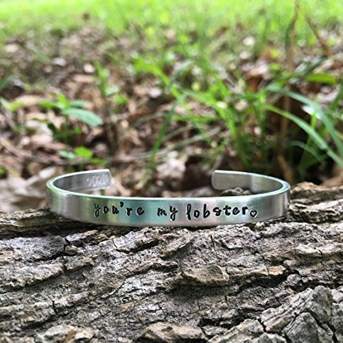 You're my lobster | FRIENDS inspired bracelet | Best Friends Bracelet | Christmas Gift Idea | Gift idea for for | silver bracelet | Custom bracelet