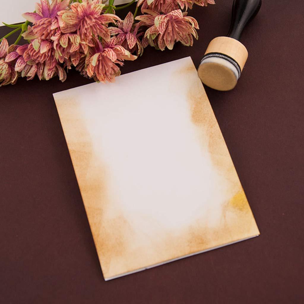 Herramienta de mezcla de colores con almohadillas de repuesto para sellar y scrapbooking medium 12 Xurgm