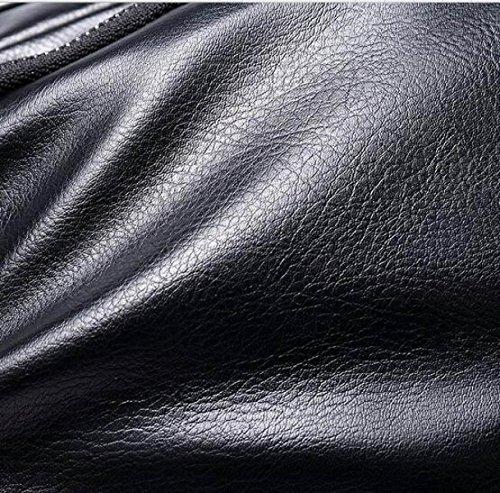 Yy.f Nueva Bolsa De Bolsa De Hombre Hombro Bolso De Los Hombres Bolso Del Mensajero Envolvente Salvaje Bolsa De Ocio Envasado Compacto De 2 Colores Black