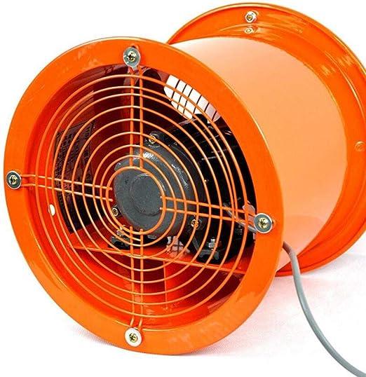 XGHW Ventilador de Alta Potencia portátil de ventilación Extractor ...