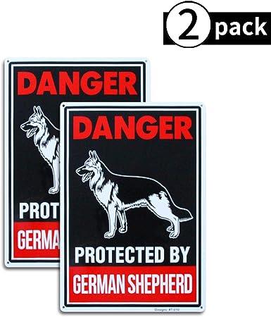 Amazon.com: Paquete de 2 carteles reflectantes para perro de ...