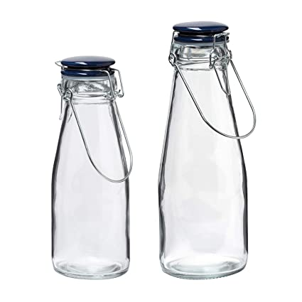 4dbe5175c334 Amazon.com: Christopher Kimball Milk Street Vintage Glass Bottles ...
