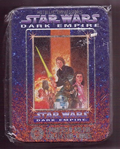 Collectors Embossed Tin (Star Wars Dark Empire Embossed Metal Collector Cards Sealed Metallic Impressions Tin - Full Sealed Tin, 1995)