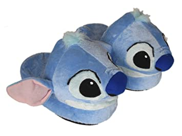 d0254cd7e744 Disney Lilo   Stitch Slippers - Plush Stitch House Slippers  Amazon ...