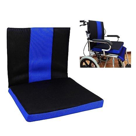 Cojín para silla de ruedas Cojín antiescaras para asiento y ...