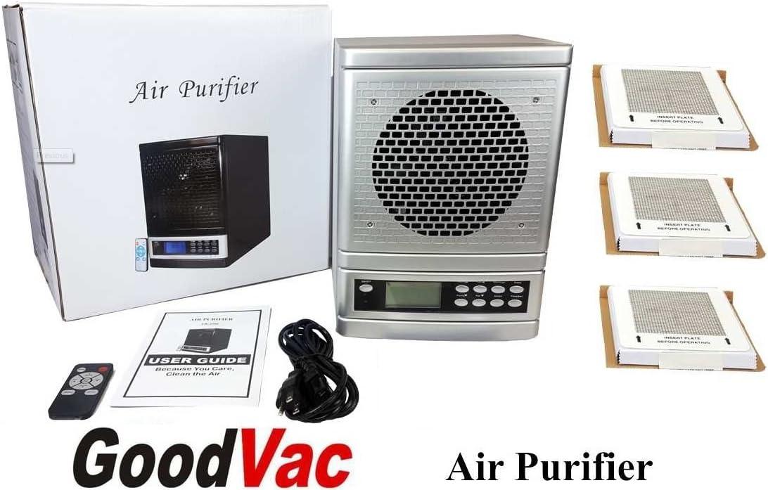 Aire fresco 7 etapa purificador de aire HEPA UV de iones de ...