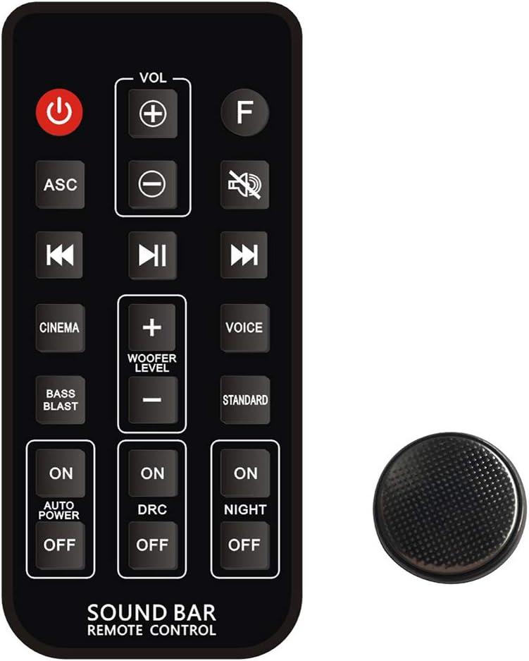 Mando a distancia universal para LG SH5 SH5B SJ5B SJ5B SJ5Y SPJ5B-W LAS260B LAS160B LAS450H LAS455H LAS750M LAS855M LAS950M barra de sonido