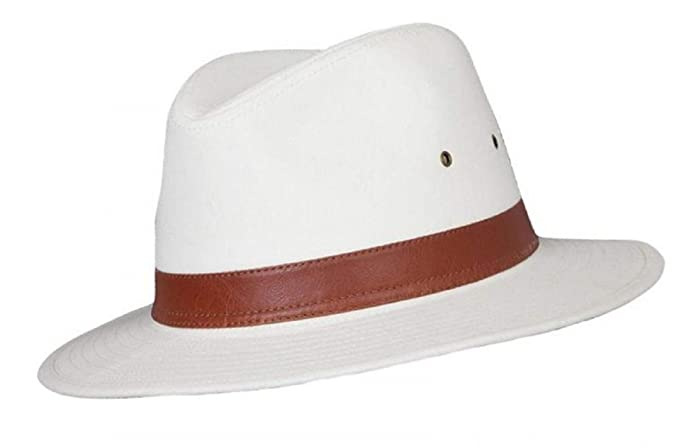 9804c3c0b0f8 The Hat Company Mens Cotton Fedora A232  Amazon.co.uk  Clothing