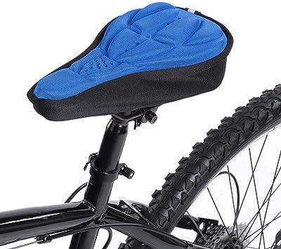 TAOZYY Cojín de sillín de Bicicleta Funda de Asiento de Bicicleta ...