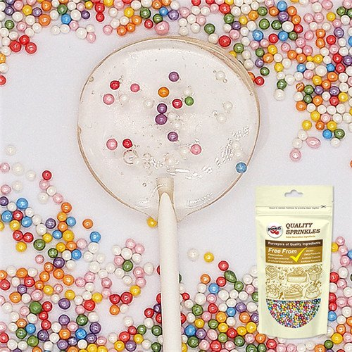 Natural Rainbow Gluten GMO Nuts Dairy Soy Free Shimmer 100's & 1000's ()