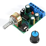 Walfront DC1.8-12V TDA2822M Amplifier 2 Channels Stereo 3.5mm AUX Audio Amp Board Module