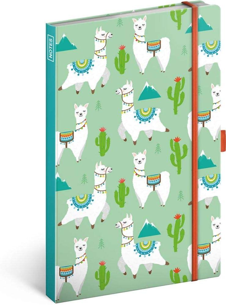 Notizbuch mit Gummiband liniert Einhorn Tagebuch Journal Notebook f/ür Schule und Arbeit Notizblock f/ür Frauen und M/ädchen