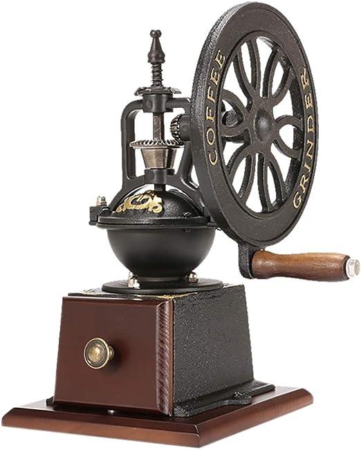 Cafetera Tipo de rueda de molino de café manual, engranajes de ...