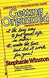 Getting Organized, Stephanie Winston, 0446391735