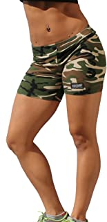 product image for Physique Bodyware Women's Workout Gym Shorts. Made in America.