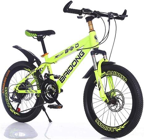 MYMGG Bicicleta De Montaña para Niños 20,22 Pulgadas Frenos De ...