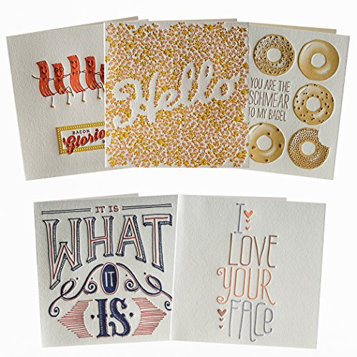 Elum Designs Letterpress Greeting Cards, Just for Laughs (Elum Designs)