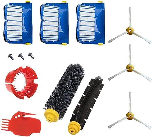 Upxiang - Juego de 10 piezas de cepillos de repuesto para iRobot ...