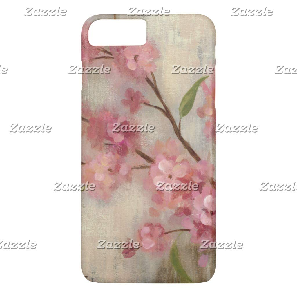 Amazon Zazzle Cherry Blossoms And Branch IPhone 8 Plus 7 Case Mate Barely There Cell Phones Accessories