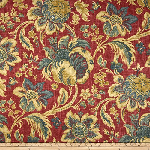 Fabric Jewel (Waverly Arbor Imagery Slub Jewel Fabric By The)