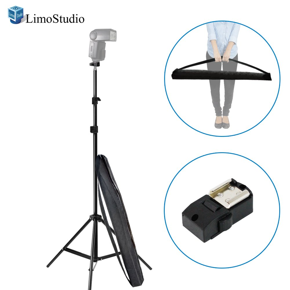 LimoStudio 2 Sets of 18W LED Table Top Lighting Kit with Light Stand Tripod and Portable Ecommerce Business Shooting Table White Background, AGG2050