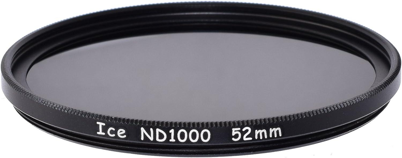 ICE 52mm 6 ND Filter Set Slim ND1000 ND64 ND32 ND16 ND8 ND4 ND 52 Optical Glass