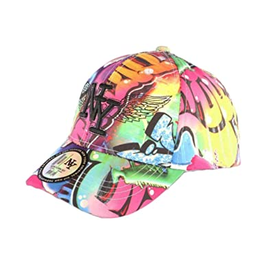 NY Fashion Pups - Gorra Infantil, Color Rosa y Verde Fluorescente ...