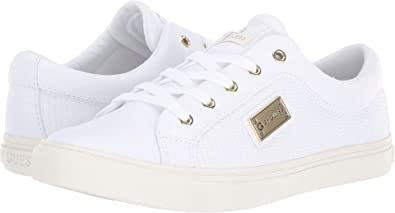 G by GUESS Womens Onix White 10 M ...