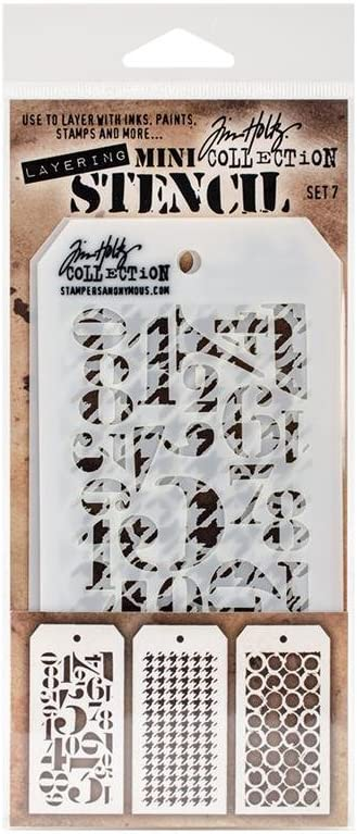 Stampers Anonymous Layering Stencil THoltz Mini #7