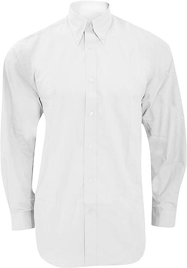 KUSTOM KIT - Camisa de Manga Larga para Trabajar Hombre Caballero: Amazon.es: Ropa y accesorios