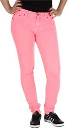 adidas Originals Superskinny Jeans 26 W 32L (Red Zest/Rosa ...